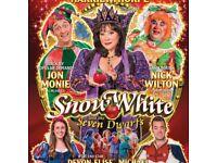Snow White Pantomime Tickets x2