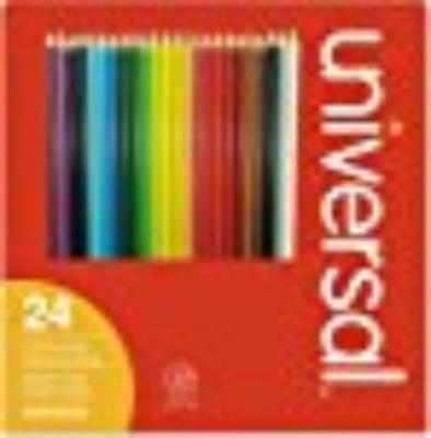 Universal Office Products UNV55324 Woodcase Colored Pencils,