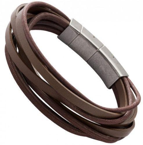 fossil armband herren braun ebay. Black Bedroom Furniture Sets. Home Design Ideas