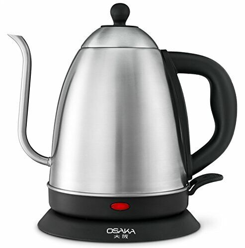 Osaka 1.5L Electric Quick Boil Gooseneck Water Kettle Drip Coffee StainlessSteel