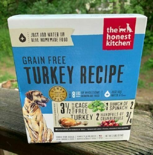 New The Honest Kitchen Grain-Free Turkey Dehydrated Dog Food 10LB Free Ship