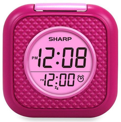 Vibrating Pillow Alarm Clock - Pink - Sharp SPC562i