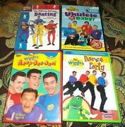 Wiggles DVD Lot