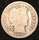 Uncertified 1895 Year Barber US Dimes (1892-1916)