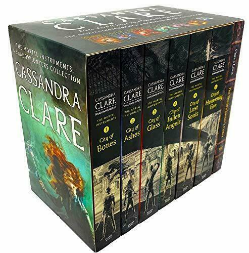 Mortal Instruments Codex 7 Books Adult Pack Paperback Set By Cassandra Clare