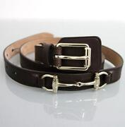 Gucci Horsebit Belt