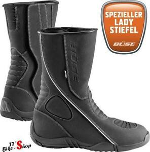 motorradstiefel damen stiefel schuhe ebay. Black Bedroom Furniture Sets. Home Design Ideas