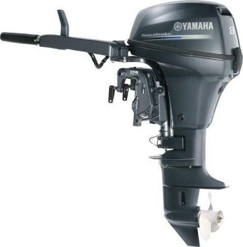 Yamaha 8hp outboard engines components ebay for Yamaha 9 9 hp outboard motor manual
