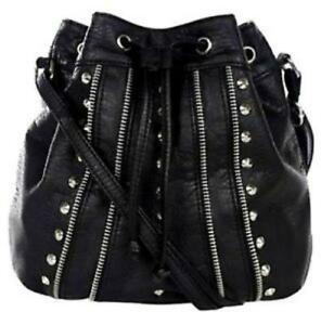 27f1edc2c Black Studded Bag | Women's Handbags | eBay