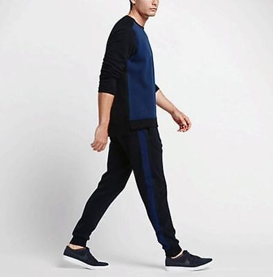 Nike Lab X Rf Mens Jogger Pants Dark Obsidian Binary Blue 826877 475 Federer