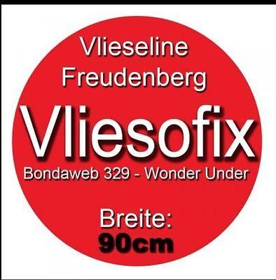 1 Meter Vliesofix Freudenberg 90 cm breit Applikation Bondaweb Rosalies
