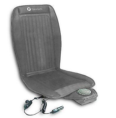 Zone Tech Car Seat Cooler Cushion Cover Summer Cooling Cool Chair Gray Cover Summer Seat Cushion