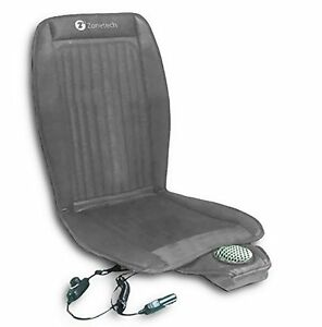 Zone Tech Car Seat Cooler Cushion Cover Summer Cooling Cool Chair Gray