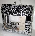 Zebra Print Comforter Twin
