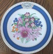 Spode Plates Flowers