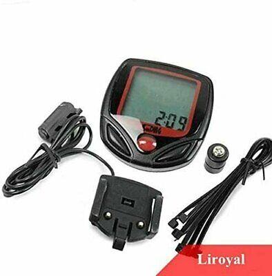 Waterproof Bicycle Bike Cycle LCD Display Digital Computer Speedometer Odometer Bicycle Electronics