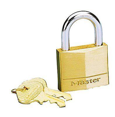 Master Lock 140D Brass Padlock 1 9 16  Sb Padlock