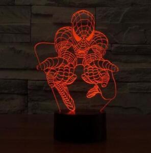 3D spiderman lamp 100% NEW