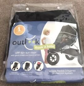 Outlook-Shade-a-Babe-Universal-Pushchair-Sun-Cover-Bug spf 50