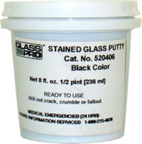 Black Window Glazing Putty : Stained glass putty ebay