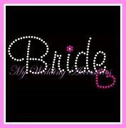 Bride Iron on Transfer