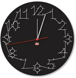 DCI Connect The Dots Clock 11.5  Wall Mounted Hanging Stars Constellations