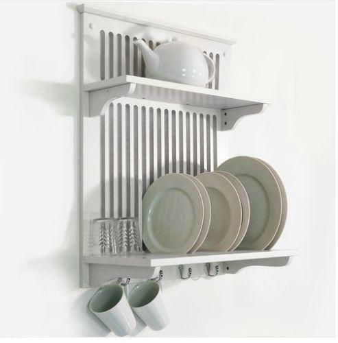 kitchen plate organizer wall plate rack ebay 2444