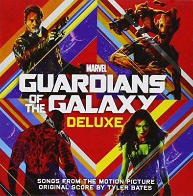 Guardians Of The Galaxy   Movie   Film Soundtrack   Deluxe  New 2 X Cd Album Set
