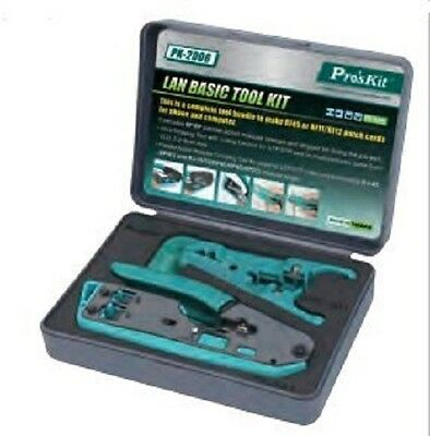 - Eclipse Pro'sKit PK-2006 LAN Basic Tool Kit