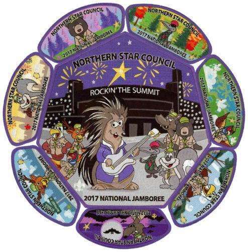 2017 National Scout Jamboree Northern Star Council 8 pc Set JSP [NJ2067]