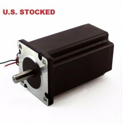 2pcs Nema23 282ozin 3a Stepper Motor Dual Shaft Kl23h276-30-8b