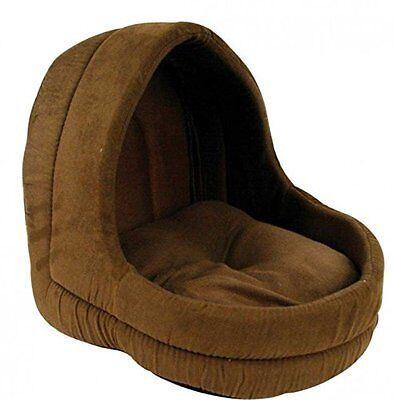 Cat Igloo Pyramid Bed House Cosy Shelter - Super Soft & Warm