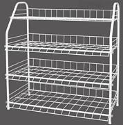 4 Tier Metal Shoe Rack