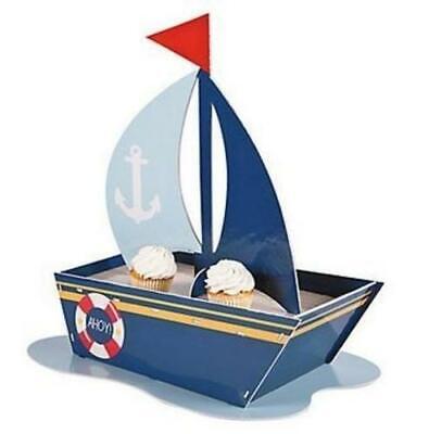 Nautical Baby Shower Cupcake