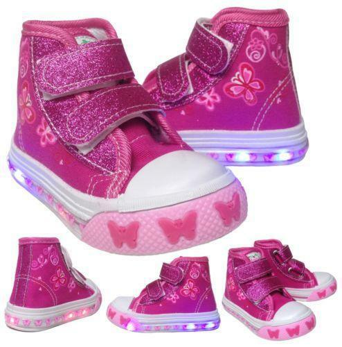Toddler Light Up Sneakers Ebay