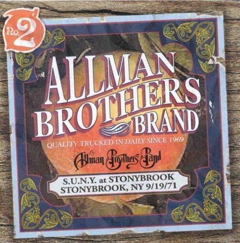 The Allman Brothers - Suny at Stonybrook 9/19/71 (Live) [New CD]