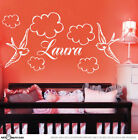 Porch Names Wall Stickers