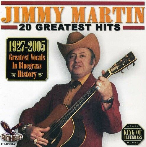 Jimmy Martin - 20 Greatest Hits [New CD]