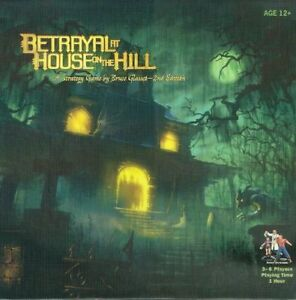 Betrayal at House on the Hill board game plus expansion