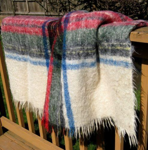 Vintage Mohair Blanket Ebay