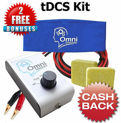 tDCS Device Transcranial Direct Current Brain Stimulator Stimulation Unit Kit