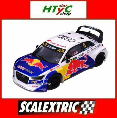 SCALEXTRIC AUDI S1 WRX #5 RED BULL MATTHIAS EKSTROM RALLY 2019 SCX...