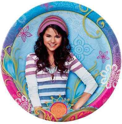 Selena Gomez Halloween (HALLMARK WIZARDS OF WAVERLY PLACE SELENA GOMEZ 6-3/4 BIRTHDAY PARTY PLATES, 8)