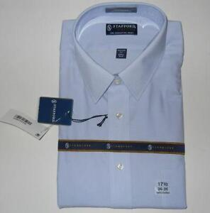 Stafford shirt ebay for Stafford dress shirts fitted