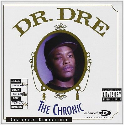 Dr  Dre   The Chronic Audio Cd Explicit Version Free Shipping New