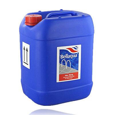 BAYROL  Bellaqua  Chlor flüssig 13% stabil. Natriumhypochlorit 24,5 Ltr.  KCW