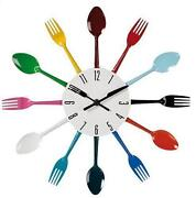 Cutlery Clock
