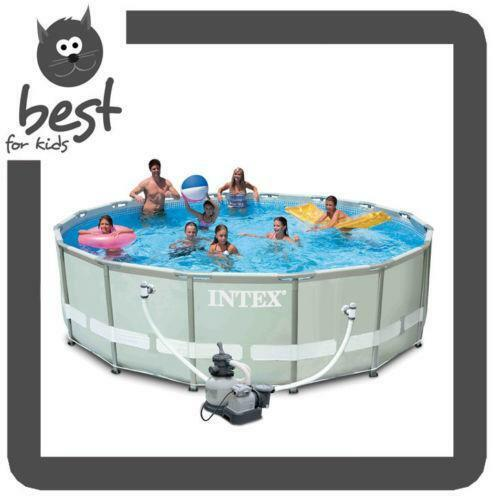 intex pool 488 ebay. Black Bedroom Furniture Sets. Home Design Ideas