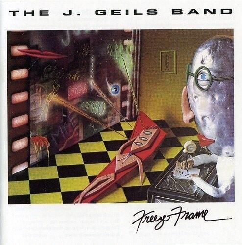 J.GEILS BAND - FREEZE FRAME  CD NEU