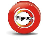 FlyPuck 4oz Off-ice training puck for ice/roller hockey (Red - 4 ounces)